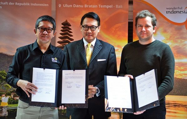 Bekraf RI Teken MoU dengan Tatino Film di Berlin Guna Genjot Perfilman Indonesia
